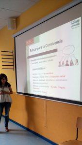 Charla Cuidadores sobre Educación Emocional, CEIP Cortes de Cádiz