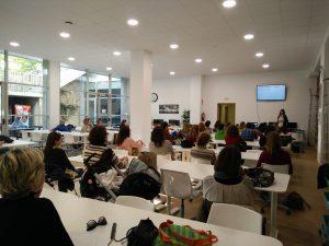 Charla Acoso Escolar en Biblioteca Sta. Mª La Blanca (Montecarmelo)